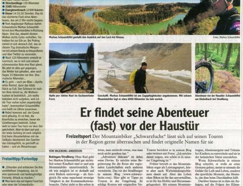 Augsburger Allgemeine / Schwabmünchen (12.09.2014): Artikel über Schwarzfuchs.