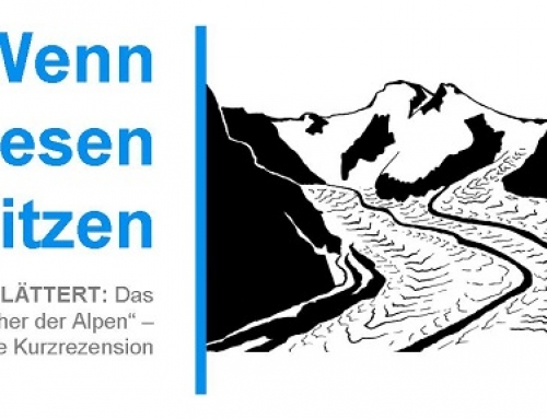 Wenn Riesen schwitzen: Die Gletscher der Alpen.